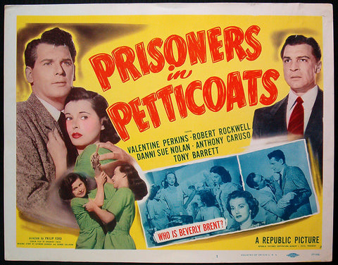 Prisoners in Petticoats 1950 title card