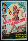Queen of the Amazons one sheet 1947