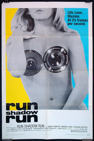 Run Shadow Run one sheet 1970