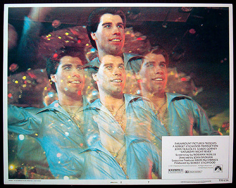 Saturday Night Fever 1977 lobby card
