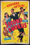 Second Chorus one-sheet Fred Astaire