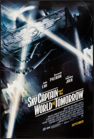 Sky Captain and the World of Tomorrow one-sheet movie poster