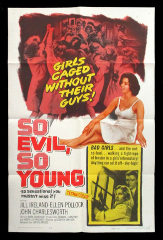 So Evil, So Young one sheet 1961