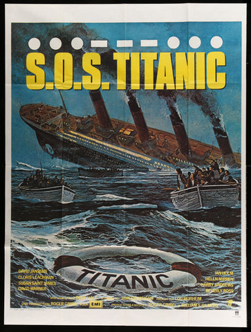 S.O.S. Titanic French poster 1979