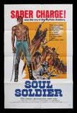 Soul Soldier one sheet 1970 western