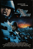 Starship Troopers one sheet Paul Verhoeven sci-fi