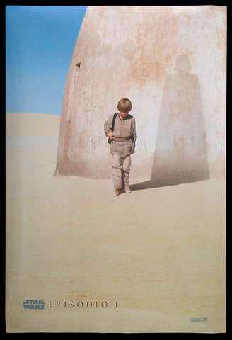 Star Wars: Episode 1 - The Phantom Menace teaser poster