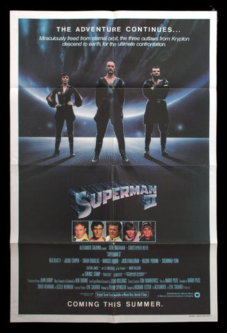 Superman II advance one sheet 1980