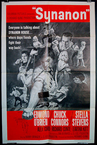 Synanon 1965 US one sheet