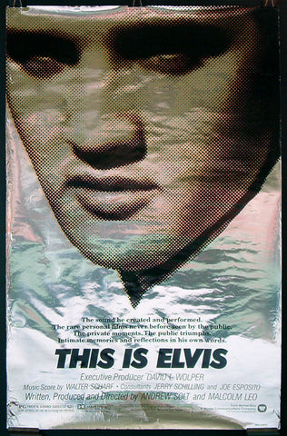 This Is Elvis one-sheet Elvis Presley
