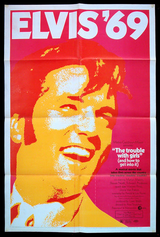 The Trouble With Girls one sheet 1969 Elvis Presley