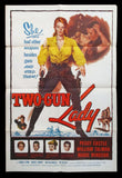 Two Gun Lady one sheet Peggy Castle