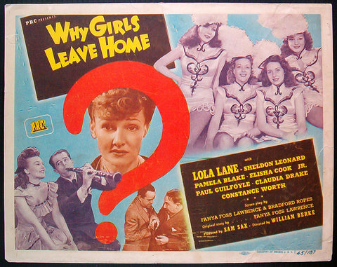 Why Girls Leave Home 1945 US title card