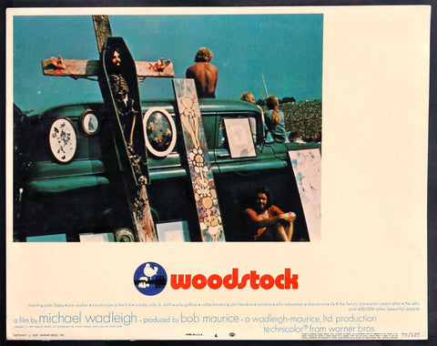 Woodstock lobby card number 4
