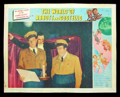 Th World of Abbott and Costello lobby card Bela Lugosi Dracula