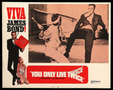 You Only Live Twice 1970 lobby card #5 007 James Bond