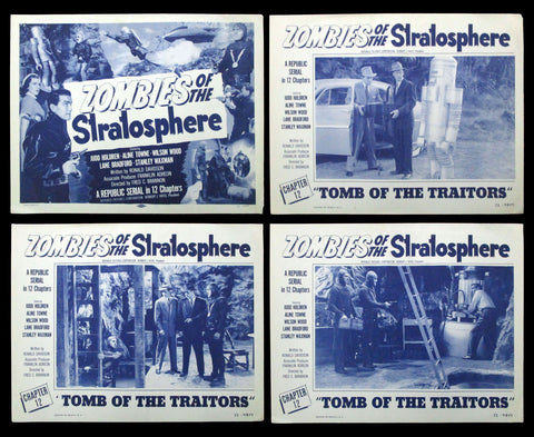 Zombies of the Stratosphere lobby card set Chapter 12 1952