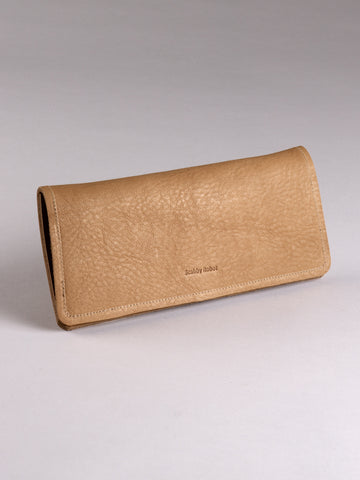 Channel Wallet - Cashew bull hide