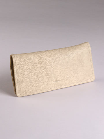 Mesa Wallet - Cream bull hide