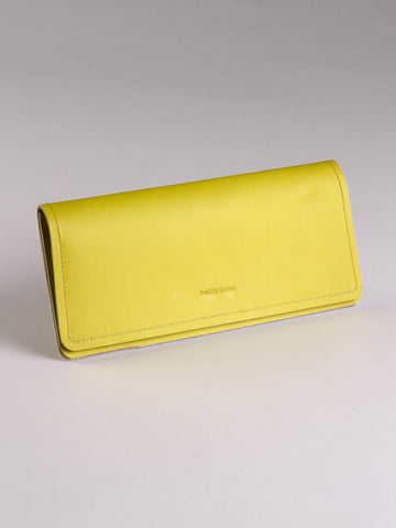 Channel Wallet - Lemon Yellow