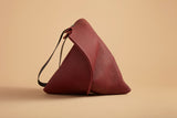 Wedge bag - Port bull hide