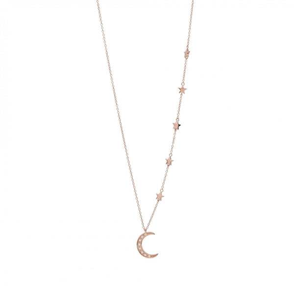 Collier Moon and stars