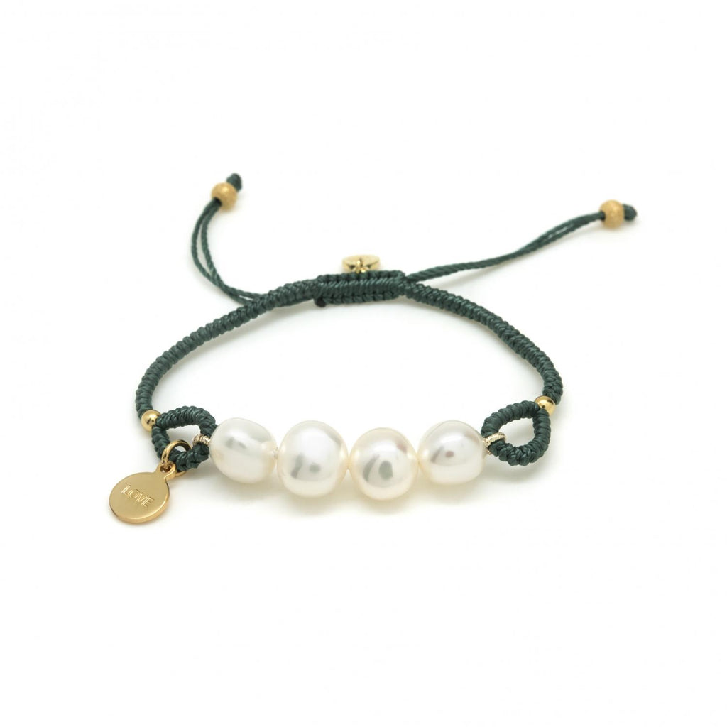Bracelet Four Pearls