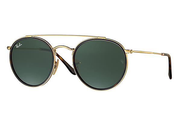 Ray-ban Round double bridge 3647-N 001 - Eyecare Malta