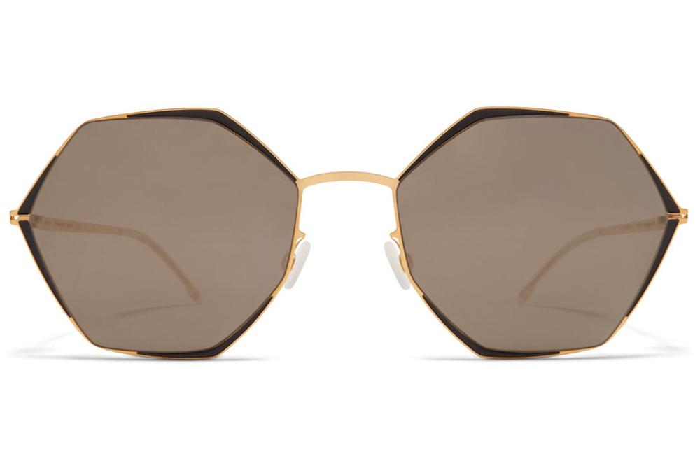 MYKITA ALESSIA GOLD BLACK