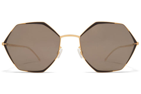 Image of MYKITA ALESSIA GOLD BLACK