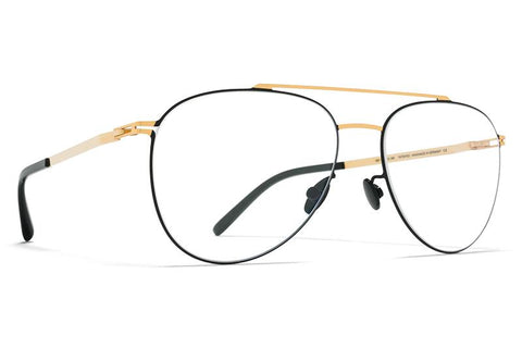 MYKITA LITE ACETATE PETERSON GOLD/BLACK - Eyecare Malta
