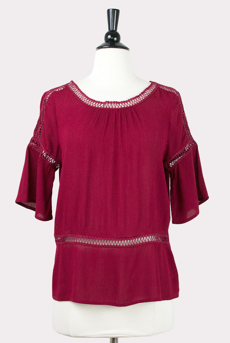 085bf50d938c55 Mylee Red Top by Eden Society - Hourglass Boutique