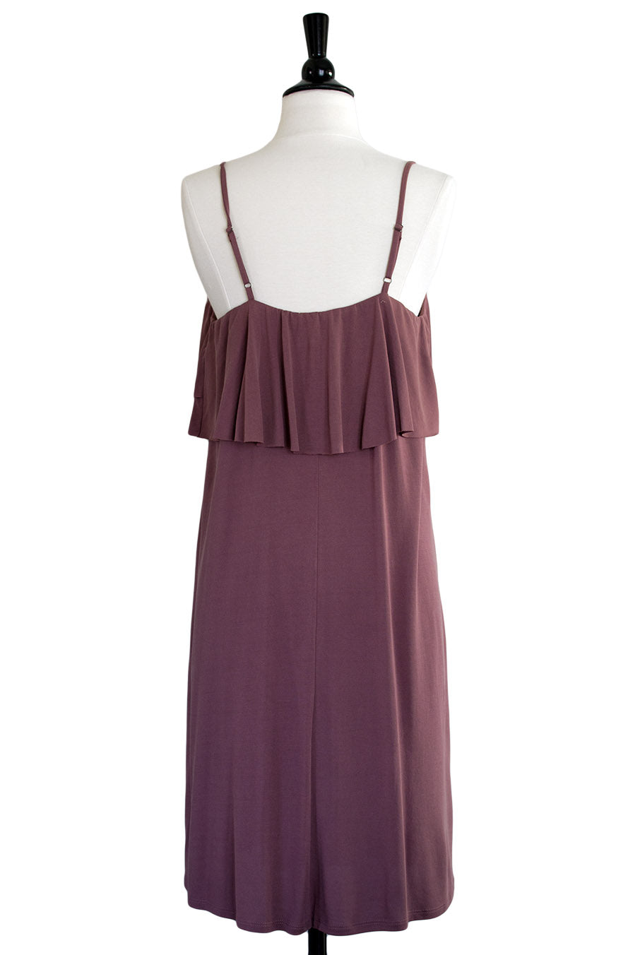 c5ebe5bd430 ... Hourglass Boutique - Mina Tiered Slip Dress in Desert Rose - 3 ...