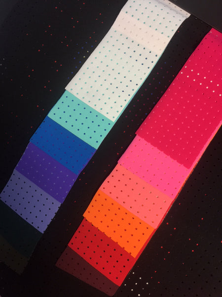 HouseWraps! Beautiful colours in perforated fabric