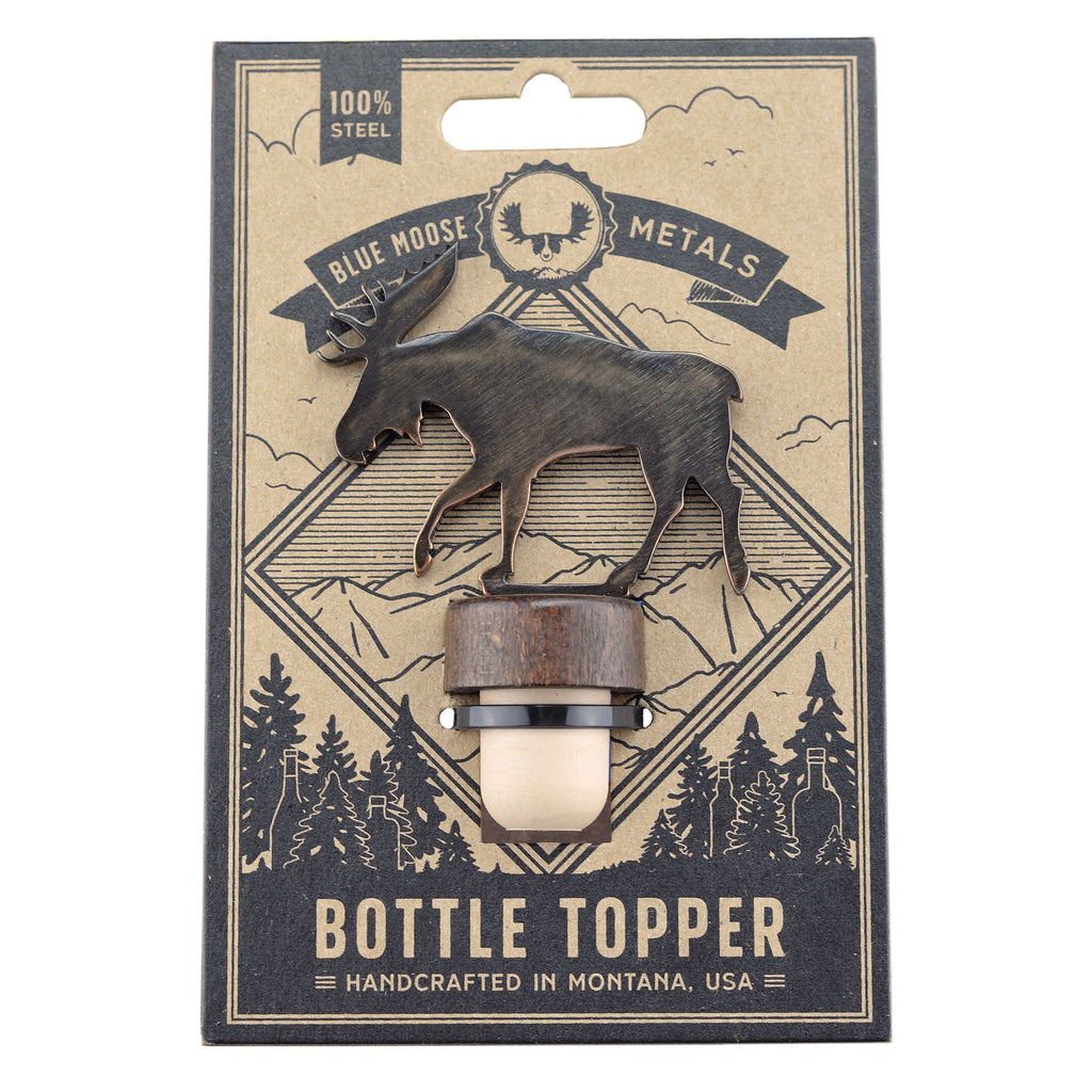 Moose Bottle Stopper