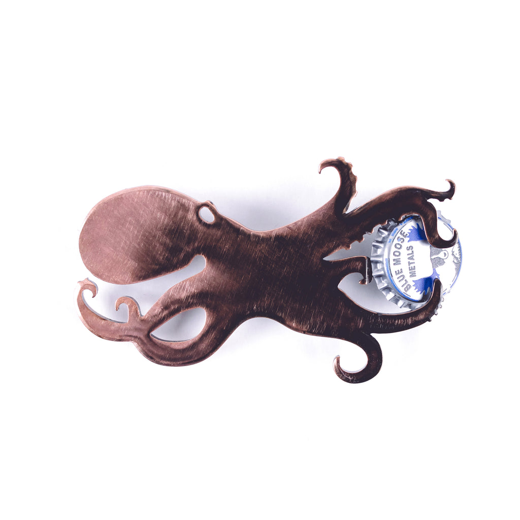 Octopus Steel Bottle Opener