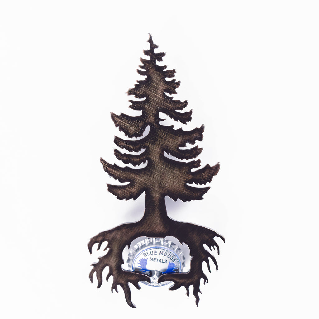 Pine Tree - Magnetic Bottle Opener