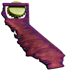 California State Steel Bottle Opener