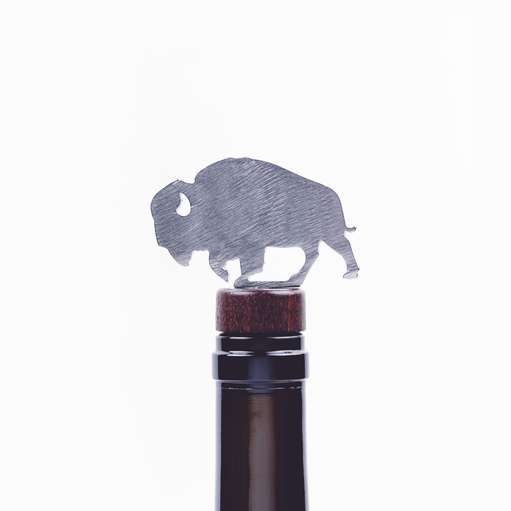 Bison Bottle Stopper