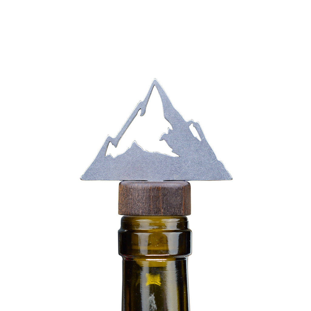 Mountain Bottle Stopper