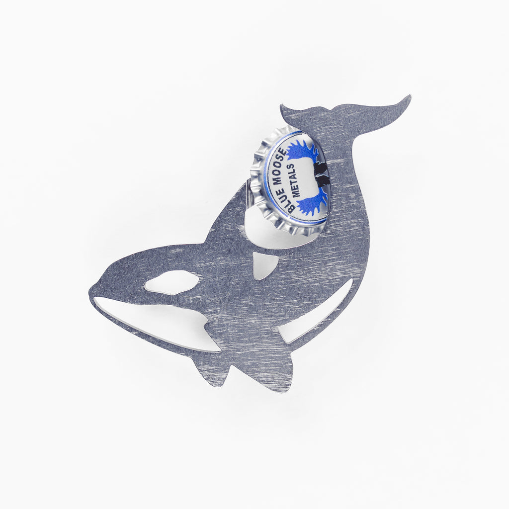Orca - Magnetic Bottle Opener