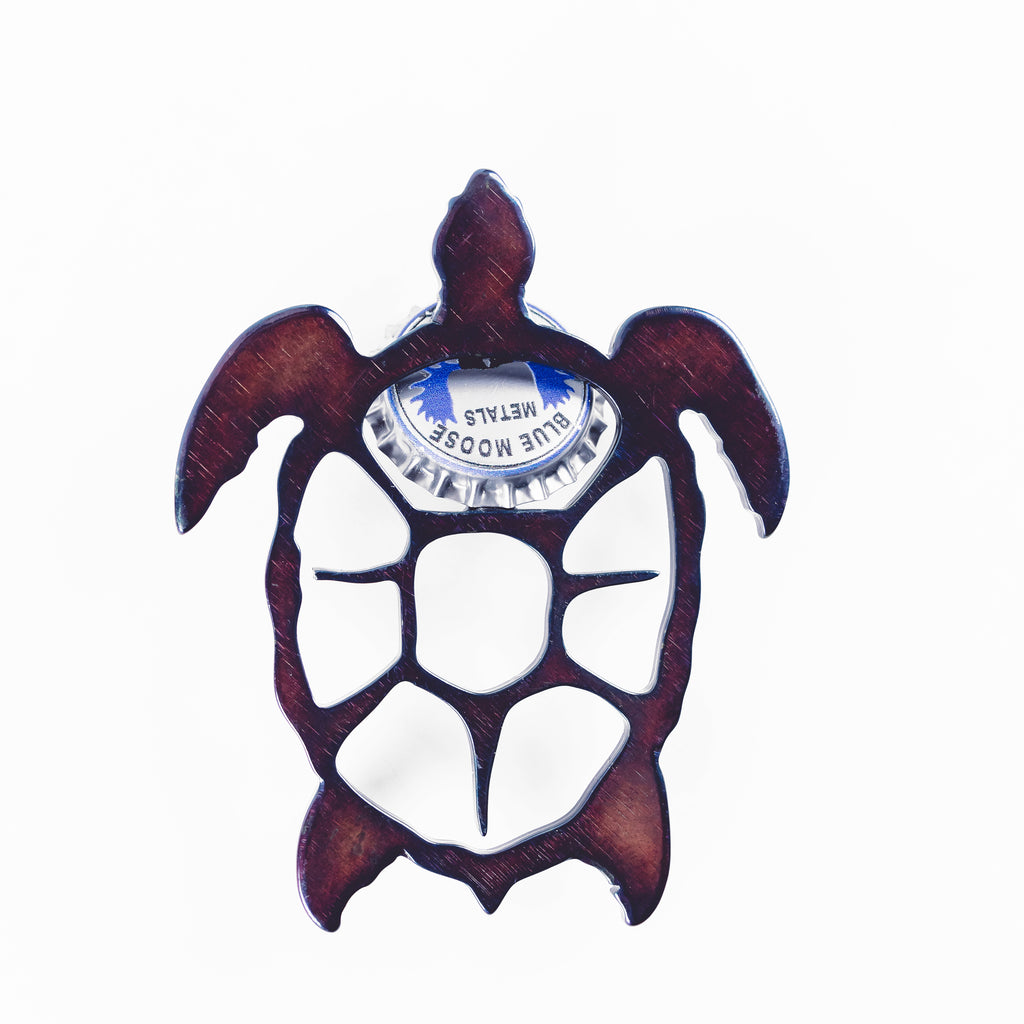 Sea Turtle Steel Bottle Opener