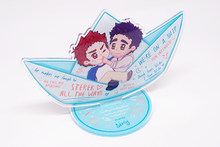 Load image into Gallery viewer, Sterek / Hobrien Ship Standee