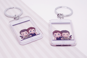 Chris & Peter Teen Wolf Charm