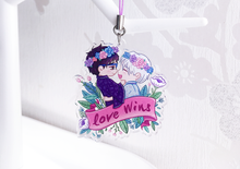 Load image into Gallery viewer, Love Wins Victuuri Charm