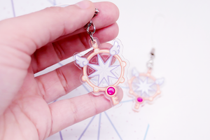 Sakura Clear Card Wand Charm