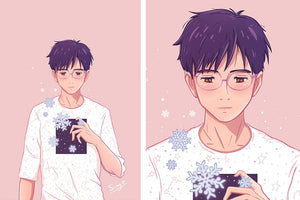 Yuuri - Can You Hear My Heart Beat? Print
