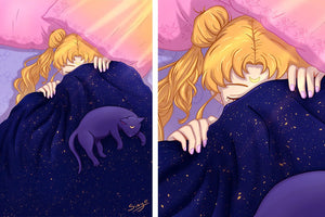 Sailor Moon Dream Print