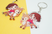 Load image into Gallery viewer, Malia & Deer Friend Charm