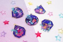 Load image into Gallery viewer, Voltron Starry Terrarium Acrylic Charms